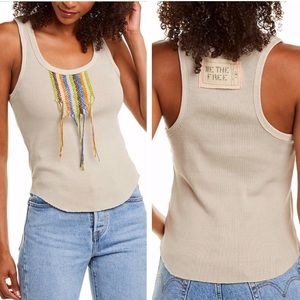 NWT Free People Great Expectations Tank Top